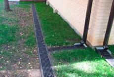 Дренажная система для отвода воды с крыши