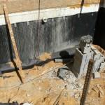 Гидроизоляция фундаментной стенки